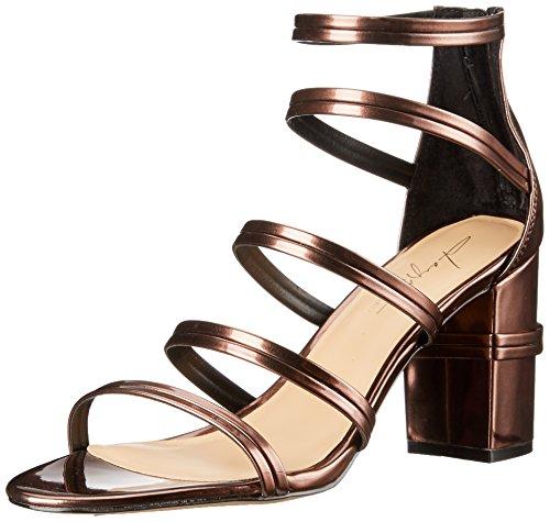 Daya Par Zendaya Womens Aimee Heeled Sandale Bronze
