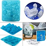 Titanic Shaped Ice Cube Trays Mold Maker Silicone Party