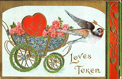 Love's Token Other Valentines Original Vintage Postcard