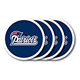 Duck House NFL New England Patriots Vinyl Coaster Set (Pack of 4)