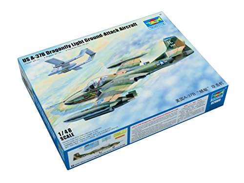 Trumpeter 1/48 02889 US A-37B Dragonfly Light Ground-Attack Aircraft