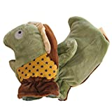 1 Pair Kids' Winter Glove Villus Mittens Haling Hands(0-3 Years)Hippo Army