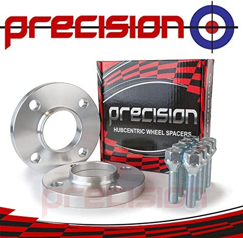 Bolts for Ṕeugeot 306 with Aftermarket Wheels Precision 15mm Hubcentric Spacers 1 Pair
