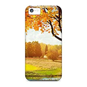 Top Quality Rugged Autumn Field Case Cover For Iphone 5c