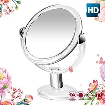 Amazon Com Sagler Vanity Mirror Chrome 6 Inch Tabletop
