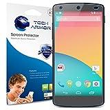 Nexus 5 Screen Protector, Tech Armor High Definition HD-Clear Google Nexus 5 Film Screen Protector [3-Pack]