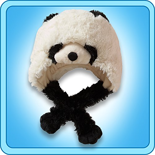 Genuine Ultra Soft My Pillow Pets Panda Hat
