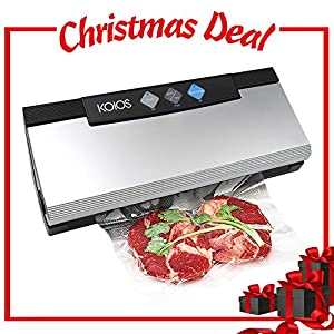 KOIOS VS2233 Vacuum Sealer - 2 IN 1 Automatic Vacuum Sealing