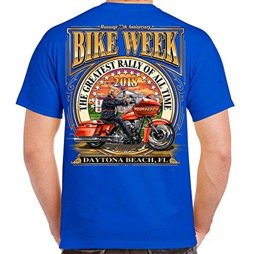 Biker Life USA 2018 Bike Week Daytona Beach tweetin' Trump - Shops Beach Daytona