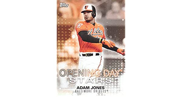 39cb80b98 2018 Topps Opening Day Baseball Opening Day Stars  ODS-AJ Adam Jones  Baltimore Orioles at Amazon s Sports Collectibles Store
