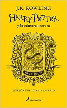 Harry Potter y la cámara secreta edición Hufflepuff del