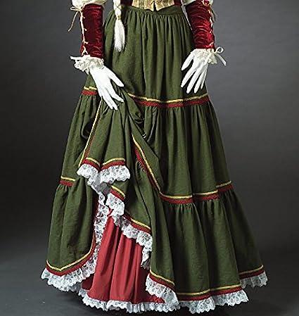 McCalls Cosplay Damen-Schnittmuster 2023 Historisches bodenlanges Kleid mit Puff/ärmeln