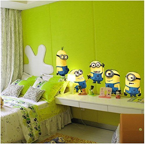 [ Minion Boss of CG Kaito glue (Despicable Me) ] Wall Stickers]()
