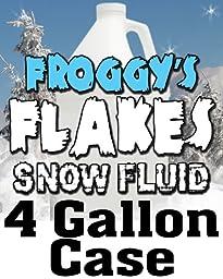 4 Gal - LONG LASTING Snow Juice Machine Fluid - Blizzard Formula