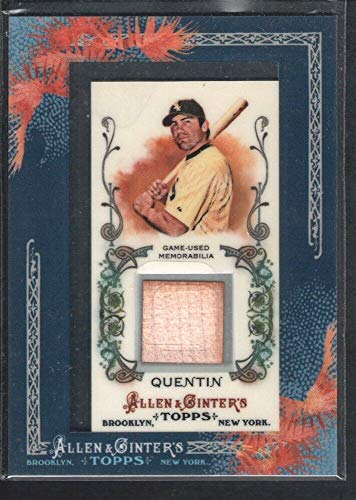 2011 Sp Game Bat - BIGBOYD SPORTS CARDS Carlos Quentin 2011 Topps Allen & GINTER #AGRCQ Game BAT Chicago White SOX SP