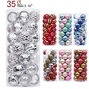 Valery Madelyn Christmas Balls Ornaments Decorations,Themed with Tree Skirt(Not Included) 14