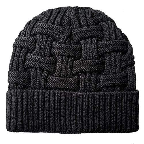 59f542e8485 Loritta Mens Winter Warm Knitting Hats Wool Baggy Slouchy Beanie Hat Skull  Cap