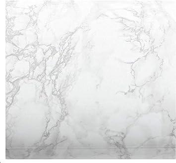 Ez Faux Decor Peel And Stick Kitchen Countertop Update White Marble Vinyl Overlay Not Paint 36 X 72 Amazon Com