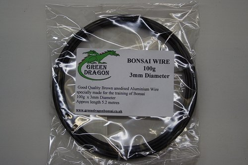 100g of 4mm diameter Bonsai Wire