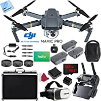 DJI Mavic Pro 4K Camera Quadcopter Drone 2 Extra Batteries Super Pack