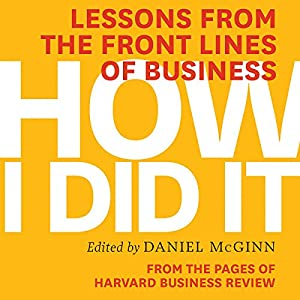 How I Did It Audiobook