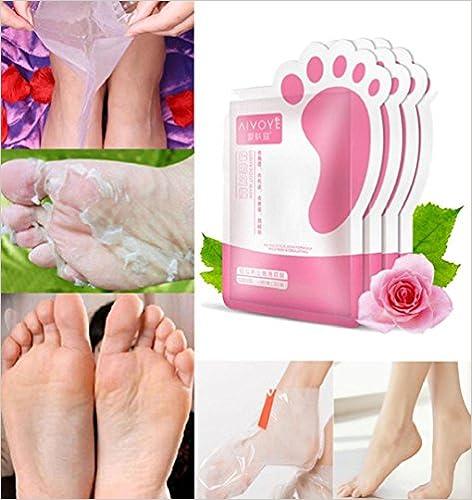 ZEZKT-Beauty Foot Mask - Mascarilla de pies - Pies lisos y suaves como el terciopelo