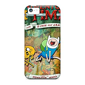 High-quality Durable Protection Cases For Iphone 5c(adventure Time Posters)