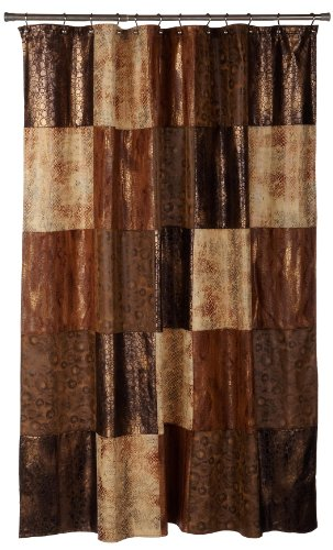 beige and brown shower curtain.  Amazon com Popular Bath Zambia Shower Curtain Home Kitchen