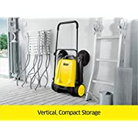 Karcher Outdoor Push Sweeper - compact storage