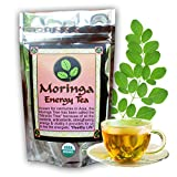 MORINGA ENERGY TEA – Loose leaf. USDA Organic, hand harvested and freshly packaged. Large 3 oz size, with this Moringa Tea loose leaf.