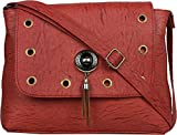 TYPIFY Leatherette PU Sling bag for Women and Girls College Office Bag, Stylish latest Designer Spacious Cross Body Bag Purse with Sling Belt. Gift for Her