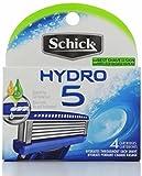 Schick Hydro 5 Blade Refill, 4-count