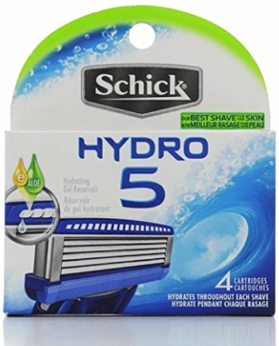 SCHICK HYDRO 5 REFILLS 4