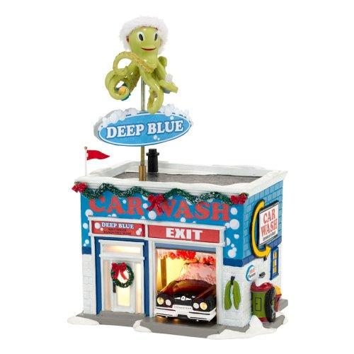 department-56-original-snow-village-deep-blue-car-wash-lit-house-57-inch
