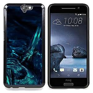 Underwater Dark Art Night Diving Caja protectora de pl??stico duro Dise?¡Àado King Case For HTC ONE A9