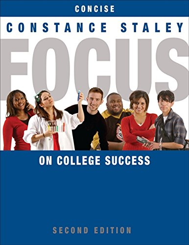 FOCUS on College Success, Concise Edition (Cengage Learning's FOCUS Series)