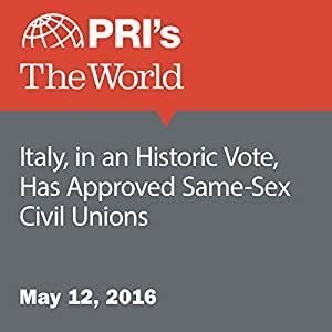 Italy, in an Historic Vote, Has Approved Same-Sex Civil Unions
