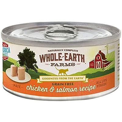 Merrick Whole Earth Farms Grain Free Wet Cat Food - Real Chicken & Salmon - 5 Oz - 24 Pk