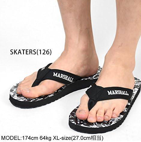 (フランクリンマーシャル)FRANKLIN&MARSHALL ビーチサンダル 靴 総柄 fm-45183-8030