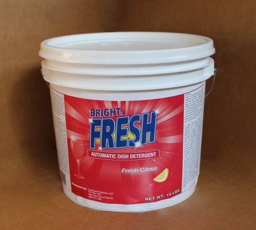 Bright and Fresh Dishwasher Detergent with Phosphate Dish Soap by Bright and Fresh