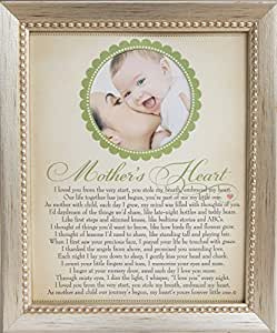 The Grandparent Gift Co. Heart Collection 8x10 Frame, Mother's Heart