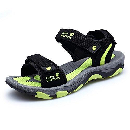 Sandali Fresco Pantofole Estate Color Pantofole HUAHUA Moda Cool Velcro Sandali Escursioni Men Uomini Casual 1 7xqwHPCtw