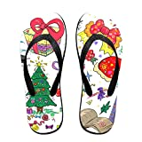 Couple Flip Flops 59e045a724394 Print Chic Sandals Slipper Rubber Non-Slip House Thong Slippers