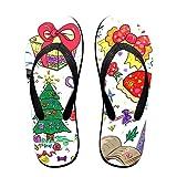Couple Flip Flops 59e045a724394 Print Chic Sandals Slipper Rubber Non-Slip House Thong Slippers