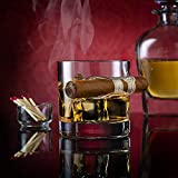 Godinger Cigar Whiskey Glass - Old Fashioned