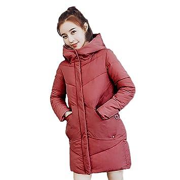 Amazon Com Clearance Hosome Women Fur Hooded Coat Button Long