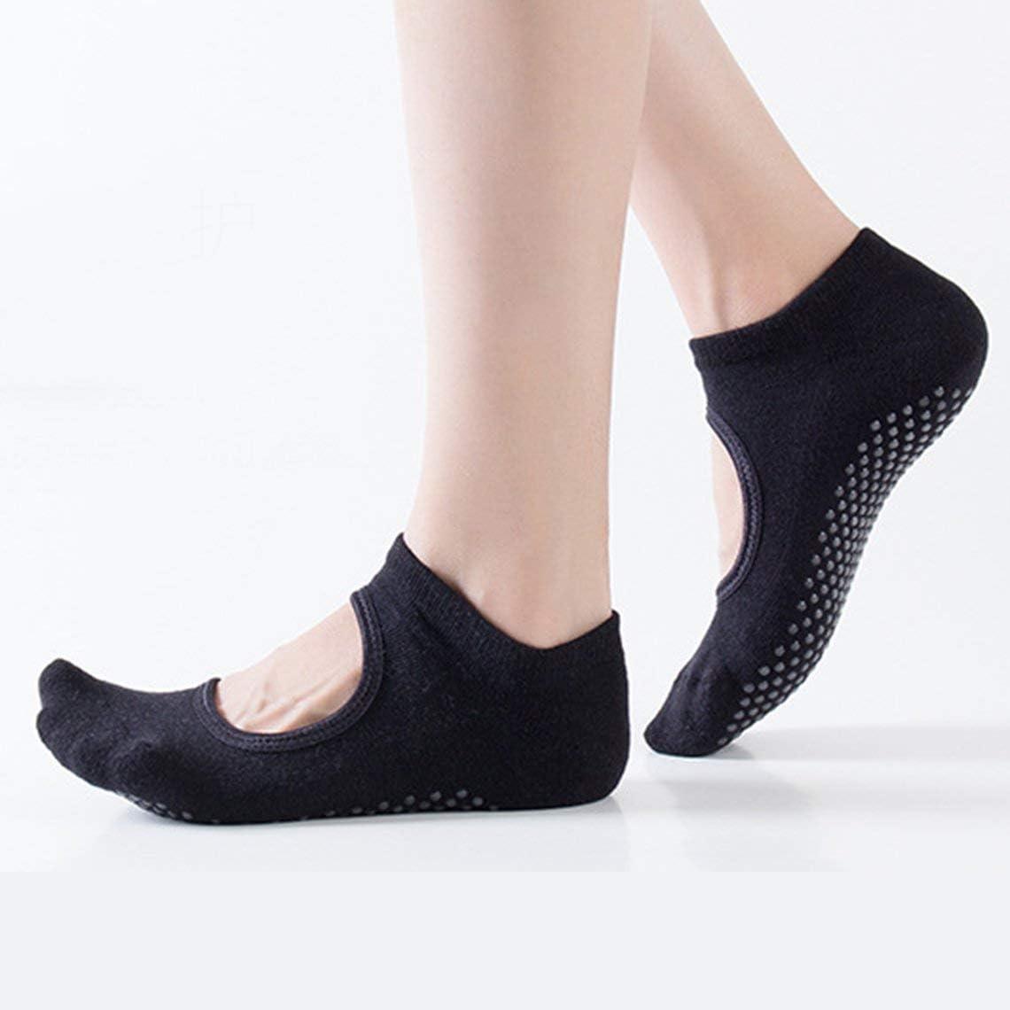 rutschfeste Baumwoll-Socken mit Socken Tanzen atmungsaktiv Yoga Gymnastik f/ür Fitness rutschfest Absatz Damen Pilates Zinniaya Anti-Rutsch-Socken f/ür Herren