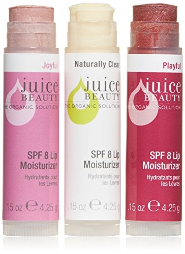 Juice Beauty Lip Trio, SPF 8 Lip Moisturizers ()