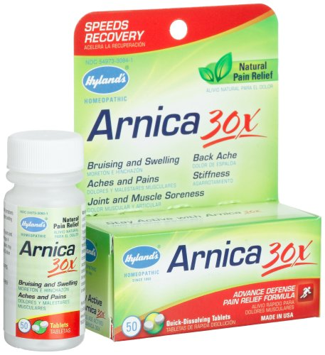 Hyland's Arnica 30X, 50-Count Bottle (Pack of 6)