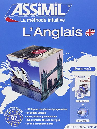 Anglais Pack - Learn British English for French speakers (book + 1 CD MP3)